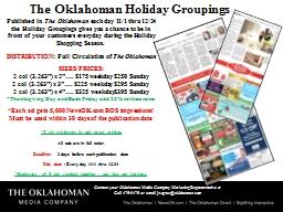 The Oklahoman Holiday Groupings