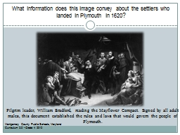 What information does this image convey about the settlers
