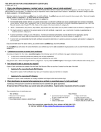 DEPARTMENT OF HEALTH SERVICES LYLVLRQRIXEOLFHDOWK HY  STATE OF WISCONSIN KDSWHUDELVWDWV DJHRI FAX APPLICATION FOR A WISCONSIN BIRTH CERTIFICATE HUVRQDOOLGHQWLILQJLQIRUPDWLRQUHTXHVWHGRQWKLVIRUPLQFOXGL