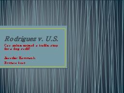 Rodriguez v. U.S.