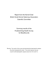 Report from the Kennel Club British Small Animal Veter