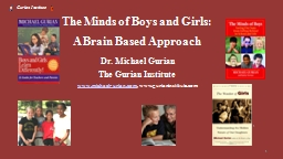 1 1 The Minds of Boys and Girls: PowerPoint PPT Presentation