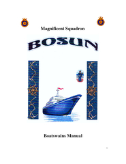 Magnificent Squadron Boatswains Manual  updated June PowerPoint PPT Presentation