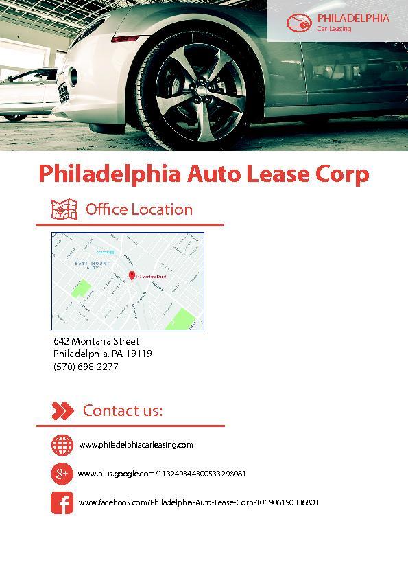 Philadelphia Auto Lease Corp