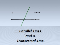 m n t Paralle l Lines  and a