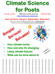Climate Science  for Poets