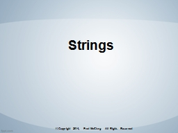 Strings Introduction to JavaScript