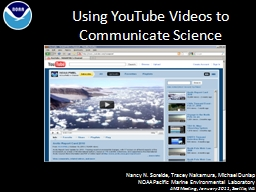 Using YouTube Videos to Communicate Science PowerPoint Presentation, PPT - DocSlides