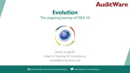 Evolution The ongoing journey of IDEA 10 PowerPoint PPT Presentation
