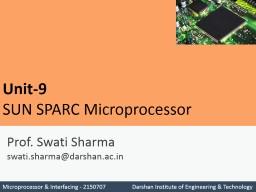 Prof.  Swati Sharma swati.sharma@darshan.ac.in