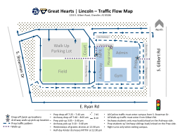 Great Hearts  |  Lincoln – Traffic Flow Map