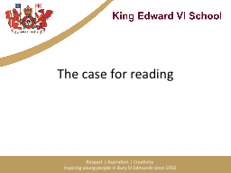 """The case for reading """"each PowerPoint PPT Presentation"""