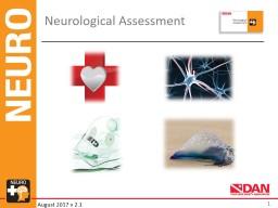 Neurological Assessment 1