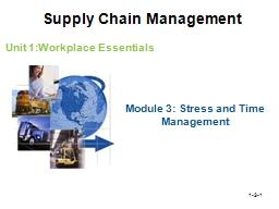 1-3- 1 Unit 1:Workplace Essentials