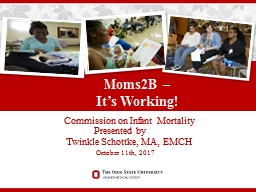 Commission on  Infant Mortality Presented by