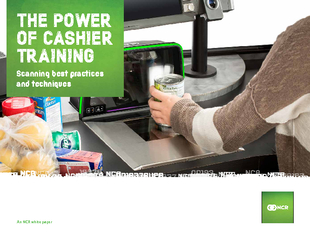THE POWER OF CASHIER TRAINING An NCR white paper Scann