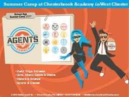 Summer Camp at  Chesterbrook PowerPoint PPT Presentation