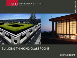 building thinking classrooms