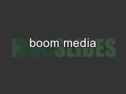 boom media