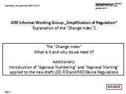 """The """"Change Index"""" What is it and why do we need it?"""