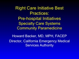 Right Care Initiative Best Practices: PowerPoint PPT Presentation