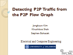 Detecting P2P Traffic from the P2P Flow Graph