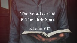 The Word of God  & PowerPoint PPT Presentation