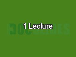 1 Lecture #3 – Origin of Species