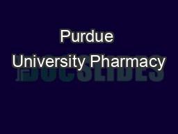 Purdue University Pharmacy