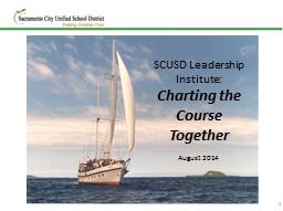 1 SCUSD Leadership Institute: