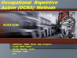 Occupational Repetitive Action