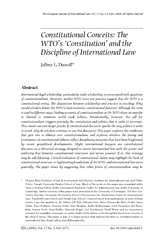 The European Journal of International Law Vo l