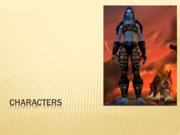 characters characters Protagonist