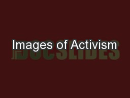 Images of Activism