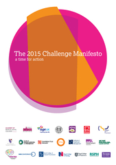 The  Challenge Manifesto a time for action A health a