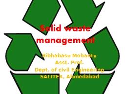 Solid waste management Bibhabasu
