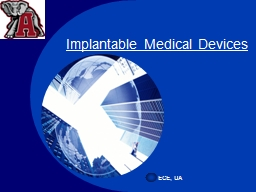 Implantable Medical Devices