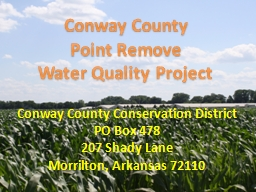 Conway County Point Remove