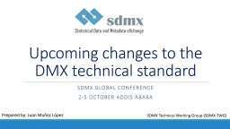 Upcoming changes to the DMX technical standard