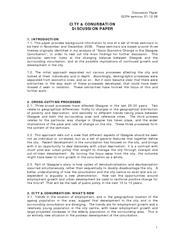 Discussion Paper GCPH seminar