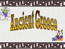 Ancient Greece Vocabulary - Lesson 1