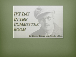 IVY DAY IN THE COMMITTEE PowerPoint PPT Presentation