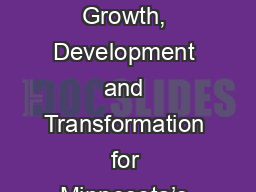 Ada In 2018  Continued Growth, Development and Transformation for Minnesota�s Finest Small Town