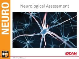 Neurological Assessment March