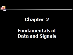 Chapter 2 Fundamentals of