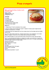 Pizza crumpets When you fancy the flavour of pizza try