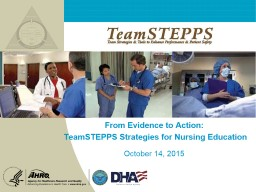 From Evidence to Action: