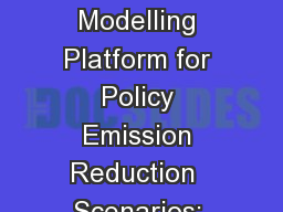 The Canadian Air Quality Modelling Platform for Policy Emission Reduction  Scenarios: Year 2010 Con