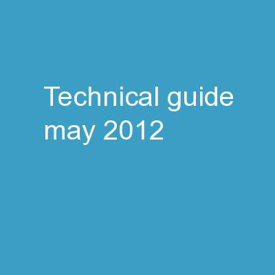 Technical Guide May. 2012