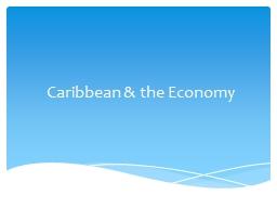 Caribbean & the Economy